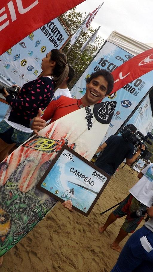 Wesley Moraes Campeão